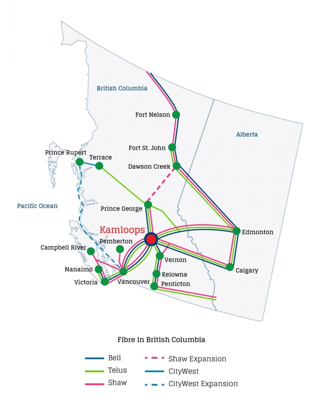 British Columbia's Fibre Transit by Carrier